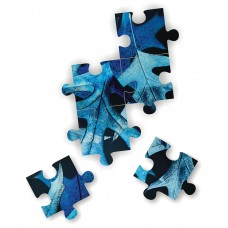 Puzzle - Blue Ice Leaves